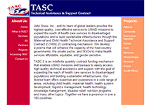 Thumbnail of the tascteam.com home page