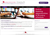 View details: E-Learning Professional Development