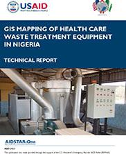 View details: GIS Mapping of Healthcare Waste Treatment Equipment In Nigeria