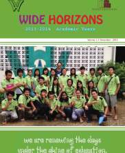 View details: Wide Horizons Newsletter: November 2013