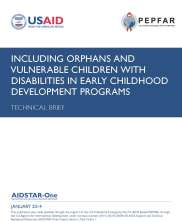 View details: Including Orphans and Vulnerable Children with Disabilities in Early Childhood Development Programs