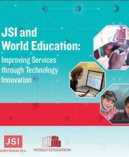 View details: JSI and World Education: Improving Services through Technology Innovation