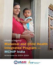 View details: MCHIP India Achievements 2009-2014