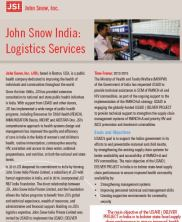 View details: JSI India: Logistics Services