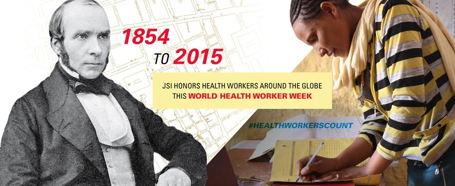 JSI Celebrates World Health Worker Week 2015. #HealthWorkersCountREAD MORE»