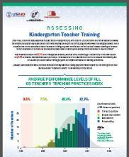 View details: Assessing Jordanian Kindergarten Teacher Training