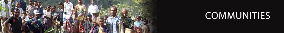 Communities - Settings - International Health