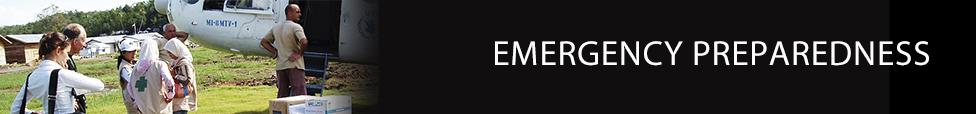 Emergency Preparedness - Technical Expertise - International Health