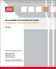 View details: Accountable Communities for Health: Strategies for Financial Sustainability Report