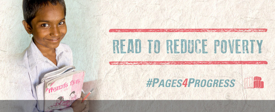 Join the #Pages4Progress: Read to Reduce Poverty campaign READ MORE »