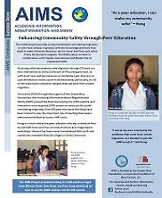 View details: Accessing Information for Migration and Safety (AIMS) Project Success Story - Hong