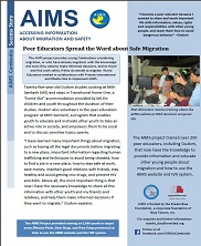 View details: Accessing Information for Migration and Safety (AIMS) Project Success Story - Oudom