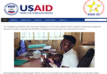 Thumbnail of the starecuganda.jsi.com home page