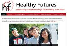 Thumbnail of the healthy-futures.org home page