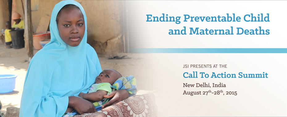 JSI presents 11 best practices in ending preventable child and maternal death READ MORE »