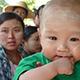 Healthy Myanmar baby