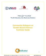 View details: Community Dialogues on Gender-Based Violence: Facilitator Guide