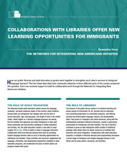 View details: Collaborations with Libraries Offer New Learning Opportunities for Immigrants