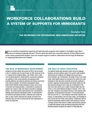 View details: Workforce Collaborations Build a System of Supports for Immigrants