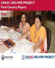 View details: USAID | DELIVER Project - India Final Country Report