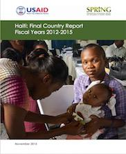 View details: Haiti: SPRING Final Country Report, 2012-2015