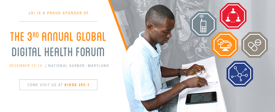 JSI Sponsors Third Annual Global Digital Health ForumREAD MORE»