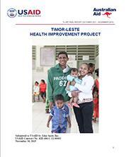 View details: Timor Leste Health Improvement Project Final Report
