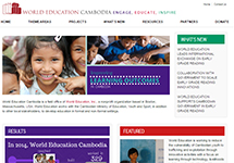 Thumbnail of the cambodia.worlded.org home page