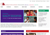 Thumbnail of the thailand.worlded.org home page