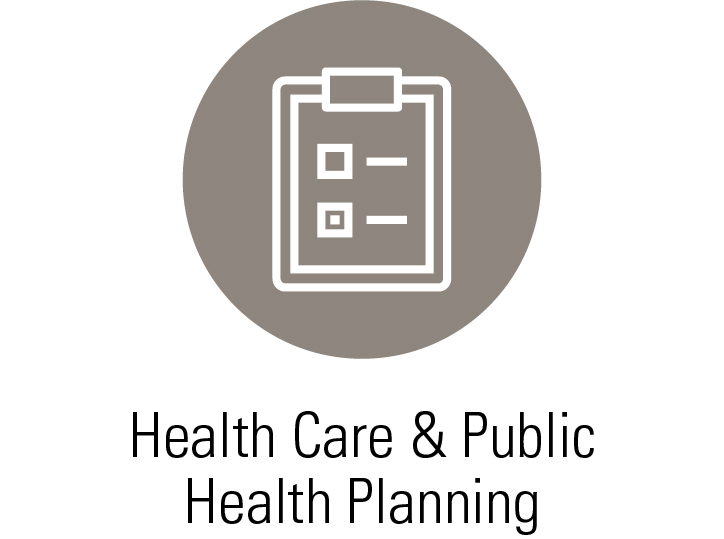 Services - Health Care & Public Health Planning