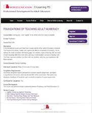 View details: Foundations of Teaching Adult Numeracy