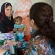 Mother and child at clinic in Pakistan