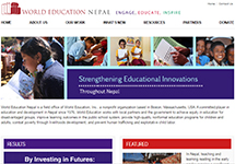 Thumbnail of the nepal.worlded.org home page