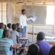 Children receive education through the Bantwana Initiative's Second Chance Program