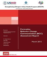 View details: Formative Behavior Change Communication (BCC) Assessment Report