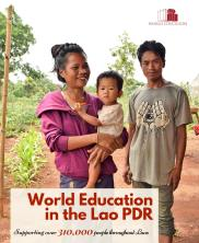 View details: World Education in the Lao PDR: 2016 Impact Report