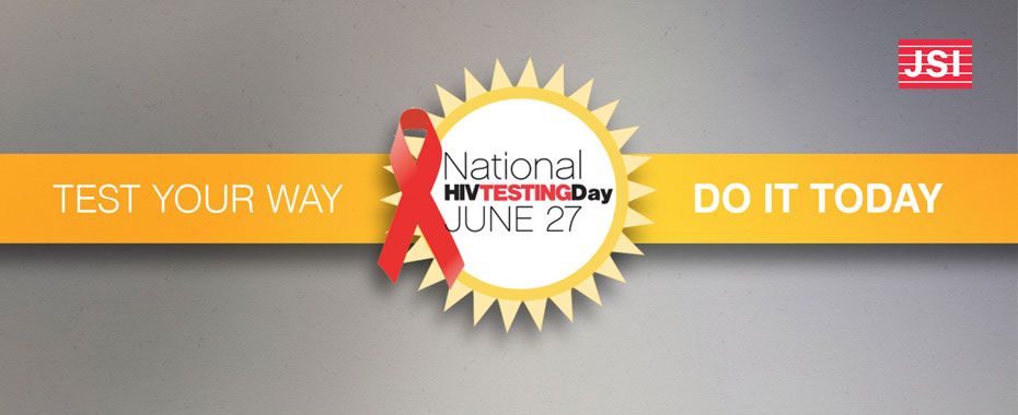 Share these JSI National HIV Testing Day resourcesREAD MORE»