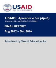 View details: USAID|Aprender a Ler (ApaL) Final Report