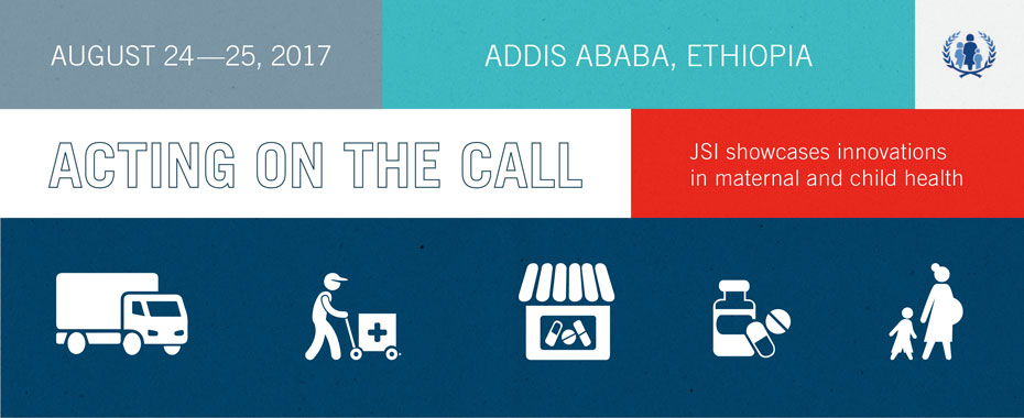 JSI showcases innovations in health at the Acting on the Call conferenceREAD MORE»