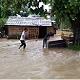 Photo of flooding in Sarlahi, Nepal via the Child Protection Organization, a World Education partner.