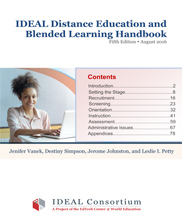 View details: IDEAL Distance Education and Blended Learning Handbook