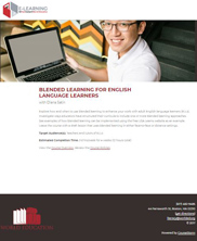 View details: Blended Learning for English Language Learners