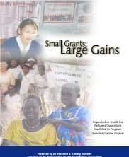 View details: Small Grants, Large Gains