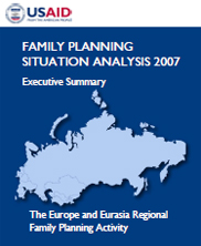 Family Planning Situation Analysis 2007: Executive Summary