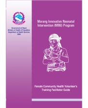 FCHV Training Facilitator Guide