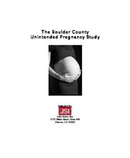 COVER: The Boulder County Unintended Pregnancy Study